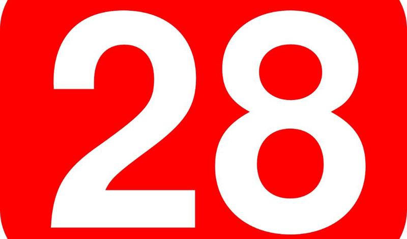 Número 28