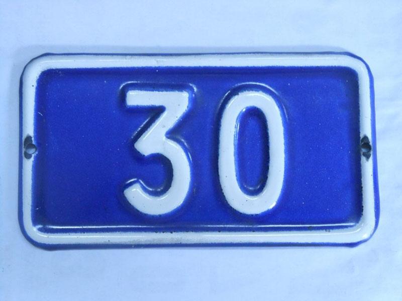 Número 30